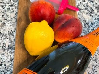 Peach Bellini Mionetto Popsicle